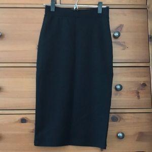 Pencil skirt stretchy